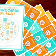 printable chore cards for kids 1