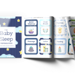 Easy-to-follow baby sleep routine cards and baby sleep checklists!