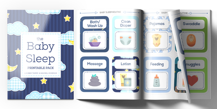 Create soothing and customizable baby sleep routines using these printable cards. Plus, get 6 checklists to help you troubleshoot baby sleep quickly.