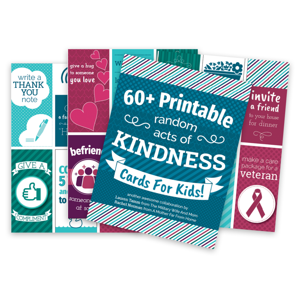 picture relating to Kindness Cards Printable named Printable Random Functions of Kindness Playing cards